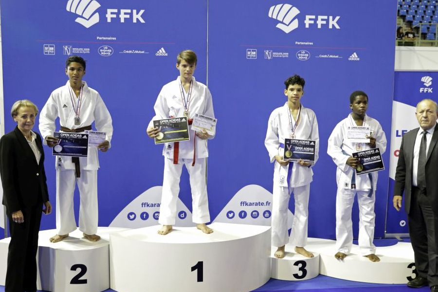 Ismaila, 3e place minime -55kg
